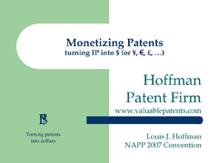 monetizingpatents