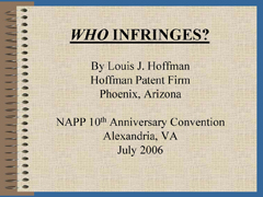 whoinfringes
